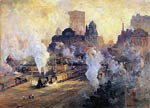 Grand central station Colin Campbell Cooper