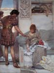 A silent greeting 1889, Alma Tadema Lawrence