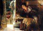 Welcome footsteps 1883, Alma Tadema Lawrence