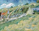 Cottages Vincent van Gogh