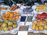 Fruit Displayed On A Stand Gustave Caillebotte