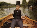 Boating Party Gustave Caillebotte