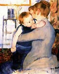 Mother and baby Mary Cassatt