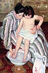 The Bath Mary Cassatt