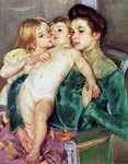 The Caress Mary Cassatt