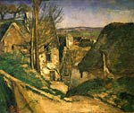 The house of a hanging man Paul Cezanne