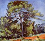 The large Pine Paul Cezanne