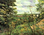 The valley of Oise Paul Cezanne