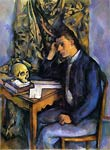 Boy with Skull Paul Cezanne
