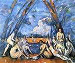 The large bathing Paul Cezanne