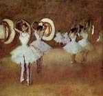 Dance Rehearsal in theStudio of the Opera Edgar Degas