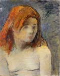 Paul Gauguin -- Bust of a Nude Girl Paul Gauguin