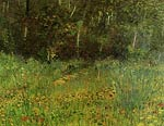 Park at Asnieres in Spring Van Gogh
