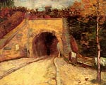 Roadway with Underpass The Viaduct Vincent Van Gogh
