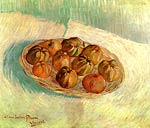 Still Life with Basket of Apples to Lucien Pissarro Vincent Van