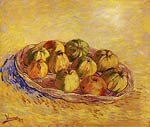 Still Life with Basket of Apples Van Gogh