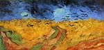 Wheat Field with Crows Vincent Van Gogh