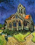 The Church at Auvers 1890 Vincent Van Gogh