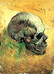 Skull (side) 1887 Vincent Van Gogh