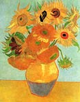 Still Life Vase with Twelve Sunflowers 1889 Vincent Van Gogh