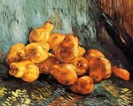 Still Life with Pears 1887 Vincent Van Gogh