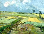 The Plain of Auvers Van Gogh