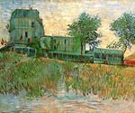 The Restaurant de la Sirene at Asnieres 1887 Vincent Van Gogh
