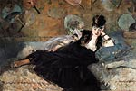 Woman with Fans [Nina de Callias] Eduard Manet
