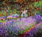 The artists garden at Giverny Claude Monet
