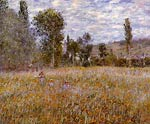 A Meadow Claude Monet