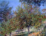 Apple Trees on the Chantemesle Hill Claude Monet