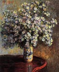 Asters Claude Monet