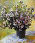 Bouquet of Mallows Monet