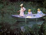 La Barque at Giverny Claude Monet