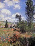 Lane in the Poppy Fields, Ile Saint-Martin Monet