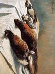 Pheasants and Plovers Monet
