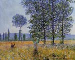 Sunlight Effect under the Poplars Claude Monet
