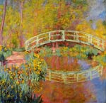 The Japanese Bridge at Giverny Claude Monet