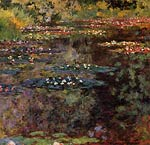 Water-Lilies Claude Monet