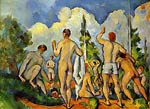 Bathing Paul Cezanne