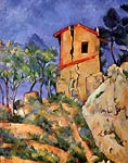 the house with burst walls Paul Cezanne