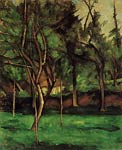The Orchard Paul Cezanne