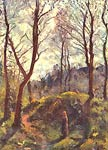 Landscape with large trees Camille Pissarro