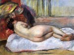 Sleeping Nude with Hat (also known as Repose) Renoir