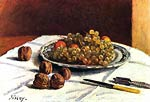Grapes and nuts Alfred Sisley