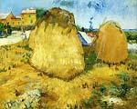 Haystacks in Provence