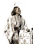Native American Indian, ceremonial dress 1900