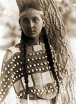 Young Dakota Indian woman, 1907