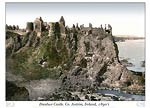 Dunluce Castle. Co. Antrim, Ireland,