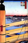 Nihonbashi Bridge and Edobashi Bridge Ando Hiroshige